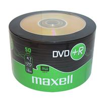 DVD+R 4.7GB 16x Shrink 50pz MAXELL