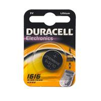 BATTERIA 1616 LITIO DURACELL (DL1616 / CR1616 - 1ba) 3V