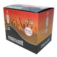 CD-R AUDIO 80min Jewel 10pz MAXELL XL-II Music Pro