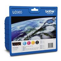 BROTHER CARTUCCIA LC985VALBP NERO+COLORI ORIGINALE