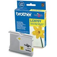 BROTHER CARTUCCIA LC970Y GIALLO 10ML/300pg ORIGINALE