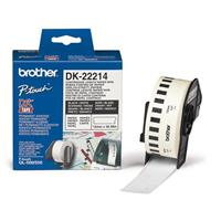 BROTHER NASTRO DI CARTA BIANCA DK-22214  lunghezza continua (12mm X 30.48m)