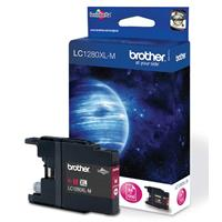 BROTHER CARTUCCIA LC1280XLM MAGENTA HC 1.2K ORIGINALE