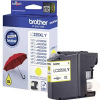 BROTHER CARTUCCIA LC225XLY GIALLO 11.8ML/1.2K ORIGINALE