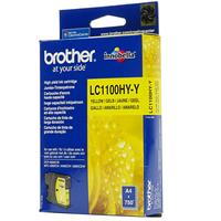 BROTHER CARTUCCIA LC1100HYY GIALLO 10.1ML/0.75K ORIGINALE