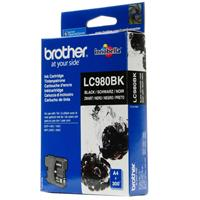 BROTHER CARTUCCIA LC980BK NERO 6ML/300pg ORIGINALE