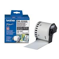 BROTHER NASTRO DI CARTA BIANCA DK-22205  lunghezza continua (62mm X 30.48m)