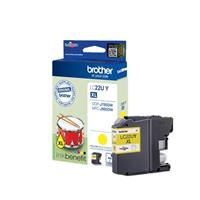 BROTHER CARTUCCIA LC22UY GIALLO 1.2K ORIGINALE
