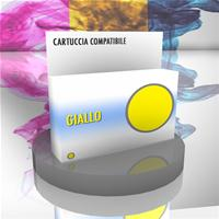 CANON CARTUCCIA CLI-521Y GIALLO 10ml COMPATIBILE con chip