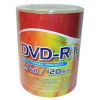 DVD-R 4.7GB 16x Shrink 100pz CMC Termica Bianca 23-118mm