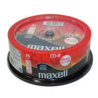 CD-R AUDIO 80min Cake 25pz MAXELL XL-II