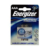 MINISTILO AAA LITIO ENERGIZER (MN2400 / LR03 - 2ba) 1.5V ULTIMATE LITHIUM