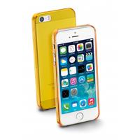 CELLULARLINE BUMPER COVER APPLE IPHONE 5 ULTRASOTTILE ICE GIALLO