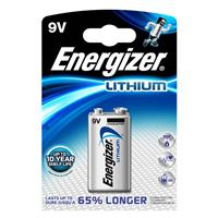 TRANSISTOR LITIO ENERGIZER (MN1604 / 6LR61 - 1ba) 9V ULTIMATE LITHIUM