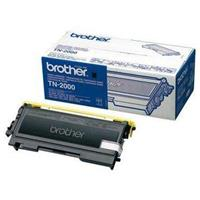 BROTHER TONER TN2000 NERO 2.5K ORIGINALE