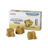 XEROX CARTUCCIA #108R00725 SOLID INK GIALLO 3.4k ORIGINALE Conf.3pz PH 8560