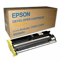 EPSON Developer S050034 GIALLO 6K ORIGINALE - C1000, C2000