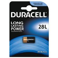 BATTERIA 28L LITIO DURACELL (PX28L / 2CR1/3N - 1ba) 6V PHOTO