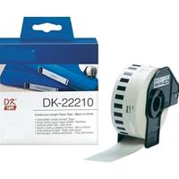 BROTHER NASTRO DK-22210 BIANCO 29mm x 30.48mt COMPATIBILE