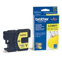 BROTHER CARTUCCIA LC980Y GIALLO 5.5ML/260pg ORIGINALE