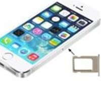 Slot Sim Card COMPATIBILE per Apple iPhone 5S Bianco