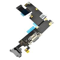 Connettore Carica + Jack Audio COMPATIBILE per Apple iPhone 6 Plus Nero