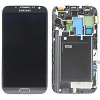 DISPLAY LCD + TOUCH ORIGINALE PER GALAXY NOTE2 LTE (N7105) GRIGIO