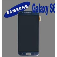 DISPLAY LCD + TOUCH ORIGINALE PER GALAXY S6 NERO GH9717260A