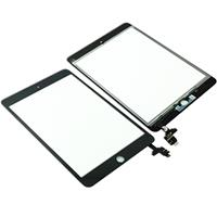 Touch Screen COMPATIBILE per Apple iPad Mini 3 A1599 A1600 con connettore IC Nero