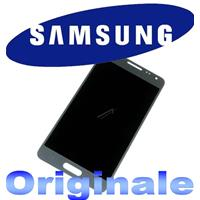 DISPLAY LCD + TOUCH completo ORIGINALE per GALAXY ALPHA SILVER