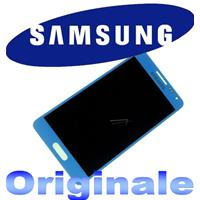 DISPLAY LCD + TOUCH completo ORIGINALE per GALAXY ALPHA BLU