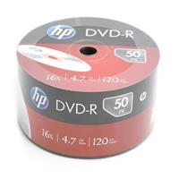 DVD-R 4.7GB|120min 16x Shrink 50pz HP