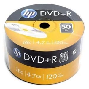 DVD+R 4.7GB|120min 16x Shrink 50pz HP