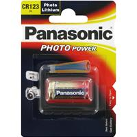 BATTERIA 123 LITIO PANASONIC (DL123A / CR123A - 1ba) 3V