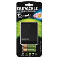 CARICABATTERIE DURACELL CEF27 (2 AA 1300 + 2AAA 750 mah incluse)