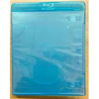 CUSTODIA 11mm BLU RAY SINGOLA BLU sleeve eco - marchio in rilievo