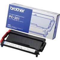 BROTHER NASTRO PC-301 NERO 250PG ORIGINALE