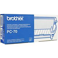 BROTHER NASTRO PC-70 NERO 140PG ORIGINALE