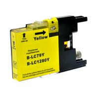BROTHER CARTUCCIA LC1280XLY GIALLO 20ML COMPATIBILE