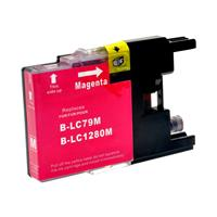 BROTHER CARTUCCIA LC1280XLM MAGENTA 20ML COMPATIBILE