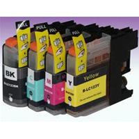 BROTHER CARTUCCIA LC123 NERO+COLORI COMPATIBILE (1xBK+1xC+1xM+1xY)