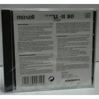 CD-RW AUDIO 700MB|80min Jewel 1pz MAXELL XL-II Music