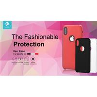 Cover Ceo Original per iPhone X Rossa