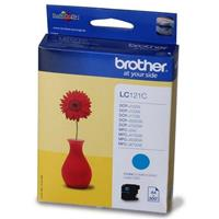 BROTHER CARTUCCIA LC121C CIANO ORIGINALE