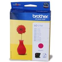 BROTHER CARTUCCIA LC121M MAGENTA ORIGINALE