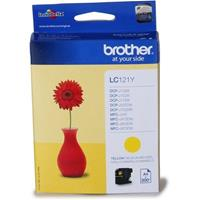 BROTHER CARTUCCIA LC121Y GIALLO ORIGINALE
