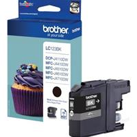 BROTHER CARTUCCIA LC123BK NERO ORIGINALE