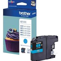 BROTHER CARTUCCIA LC123C CIANO ORIGINALE