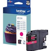 BROTHER CARTUCCIA LC123M MAGENTA ORIGINALE
