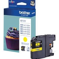 BROTHER CARTUCCIA LC123Y GIALLO ORIGINALE